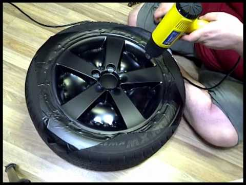 Wrap Your Rims In Vinyl And Save Money While Looking Awesome